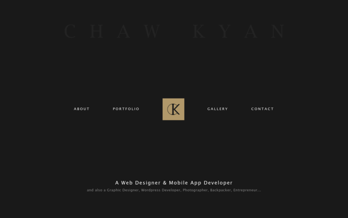 CK – A Web Designer & Mobile App Developer